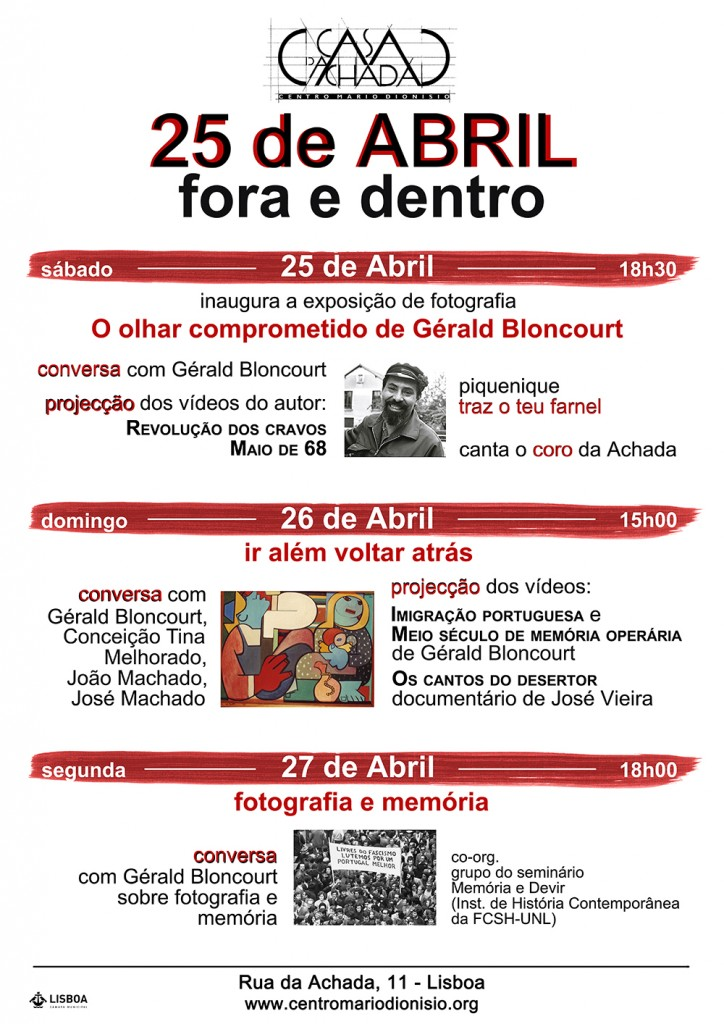 25 Abril - fora e dentro-