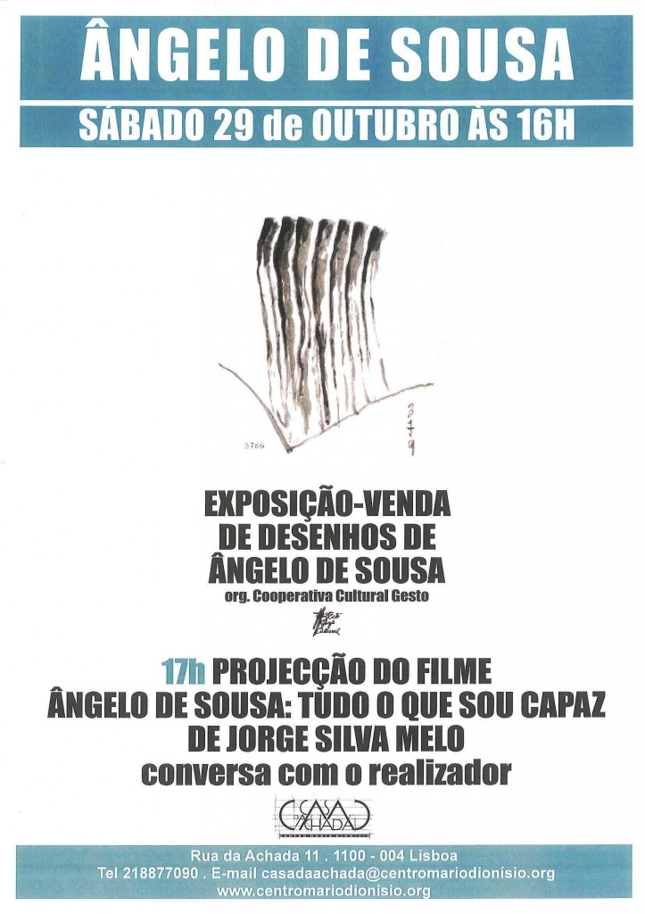 Cartaz Ângelo OUT 11
