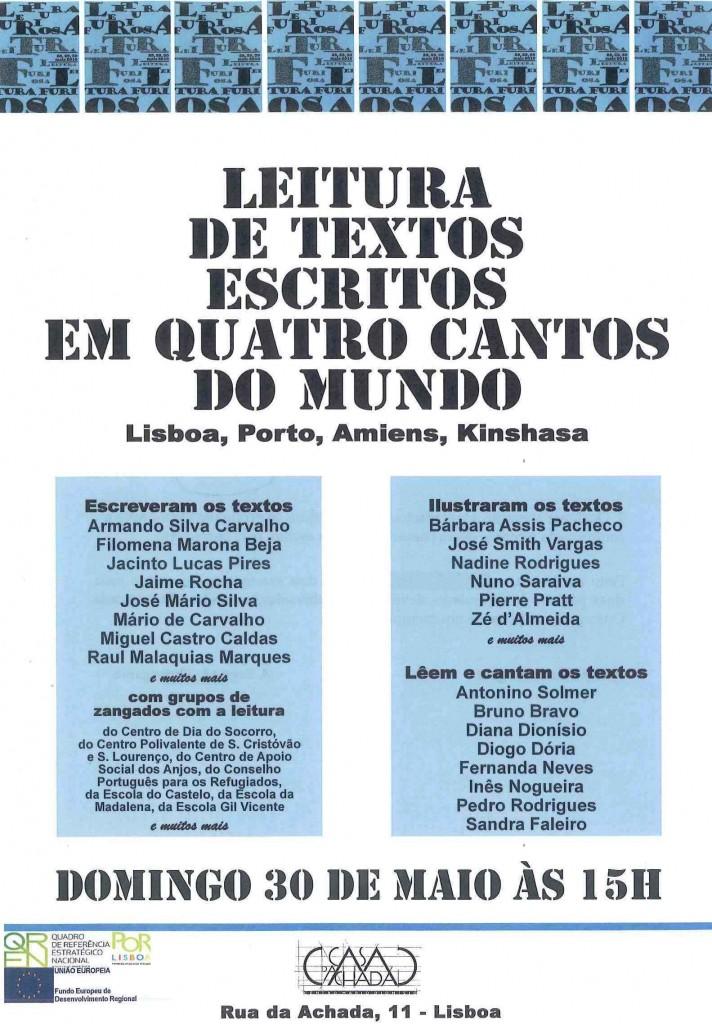 Cartaz 30 de Maio