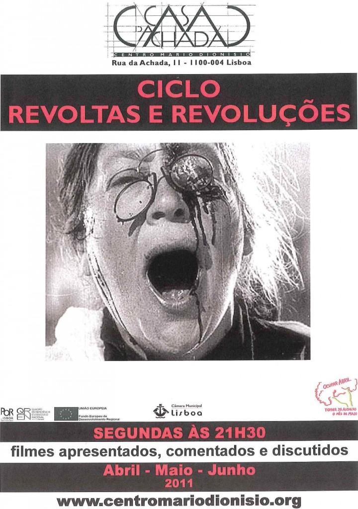 Cartaz Revoltas e Revoluções