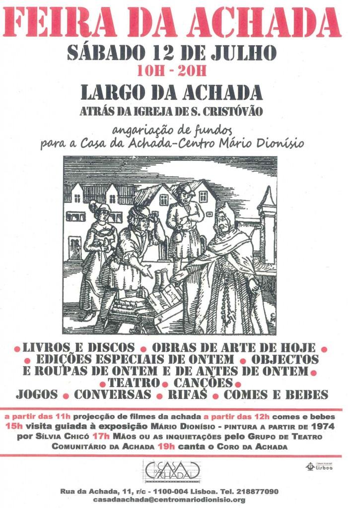 Cartaz VI Feira da Achada(1)