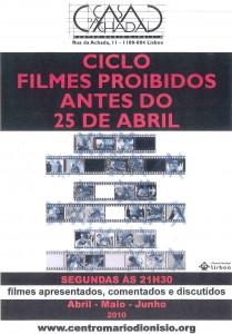 Cartaz filmes proibidos