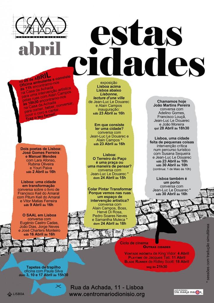Ciclo Estas cidades - Abril