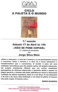 Paleta JSM cartaz