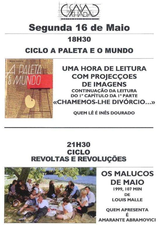 SEGUNDA 16 DE MAIO 11