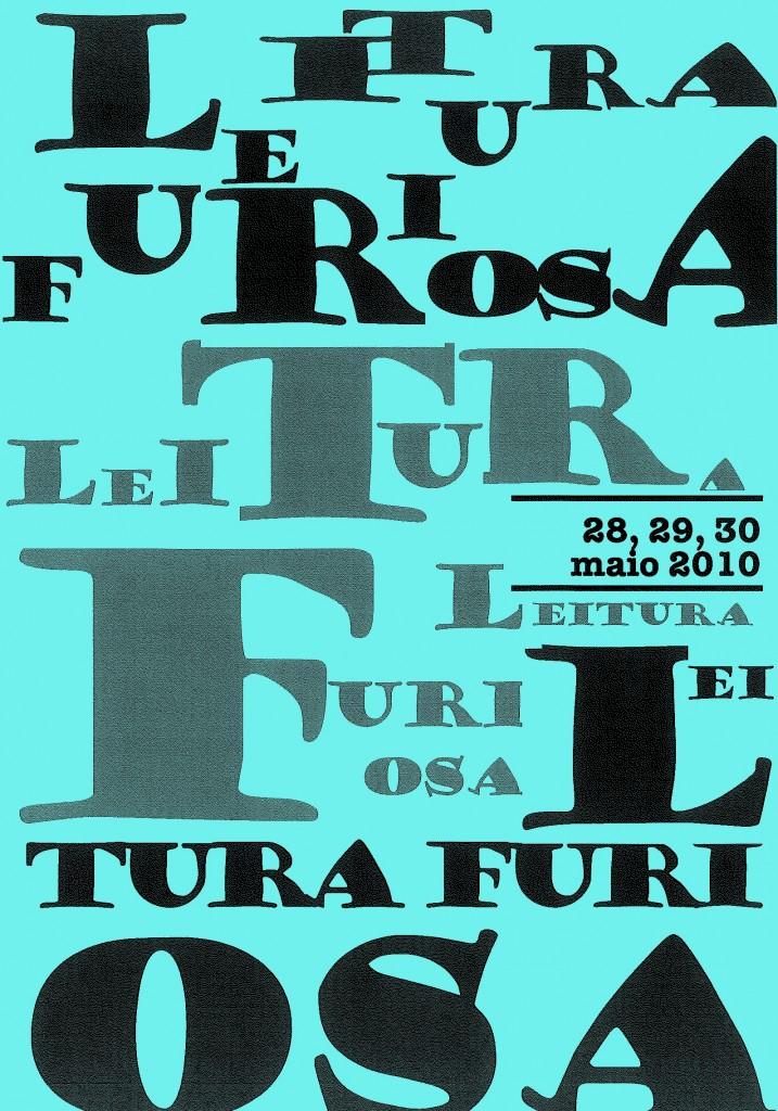 Leitura Furiosa - Cartaz