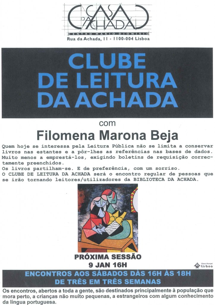 clube leitura jan 2010